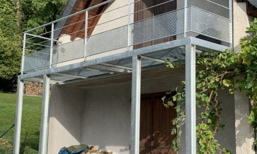 Balcon extention